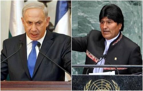 evo morales israel gaza palestina
