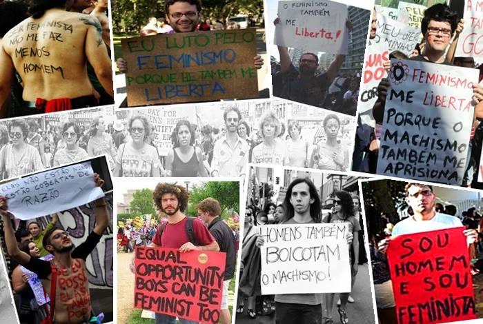feminismo homens brasil