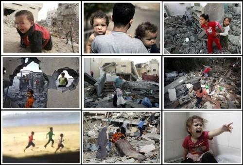 gaza crianças israel palestina