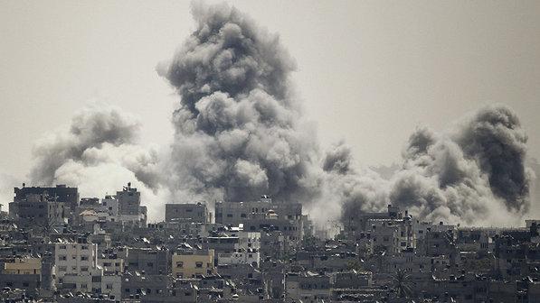 gaza bombardeada israel