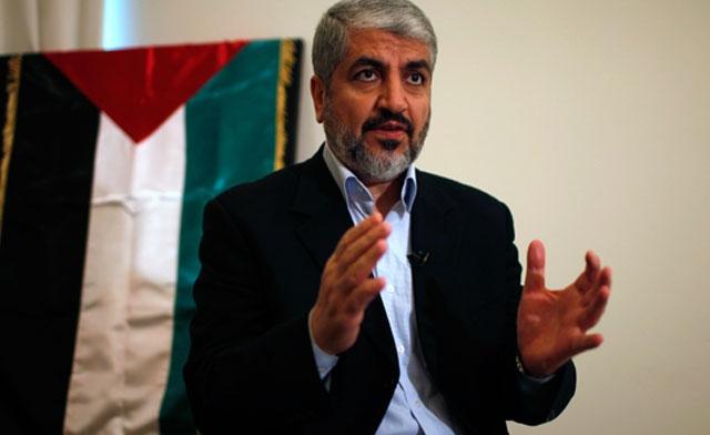 Khaled Meshaal hamas palestina israel