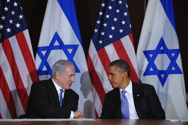 Benjamin Netanyahu e Barack Obama (Foto: MANDEL NGAN/AFP/Getty Images)