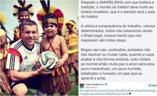 brasil lukas podolski alemanha copa 2014