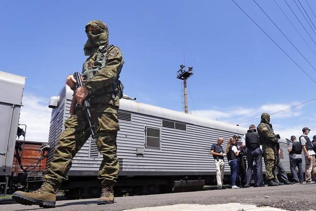 separatistas pró-rússia mh17