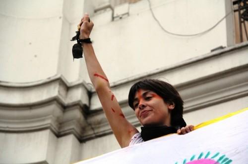 sininho ativista protesto