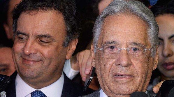 aécio fhc presidente eleições 2014