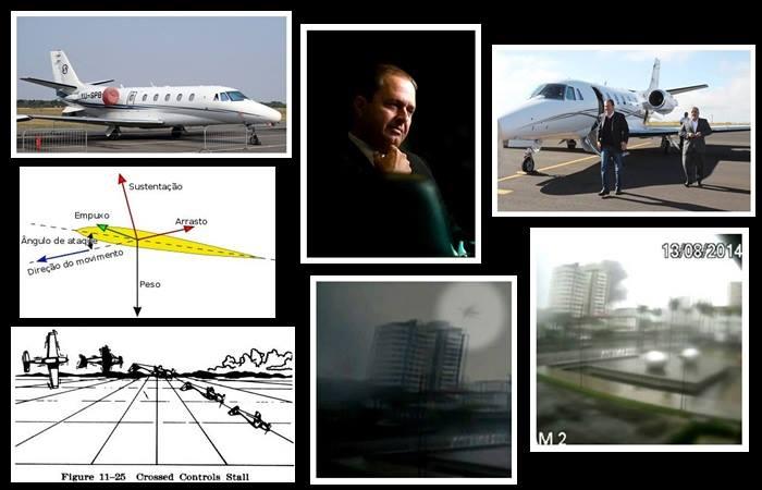 estol avião eduardo campos