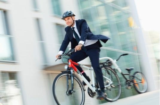 bicicleta para o trabalho