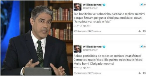 william bonner blogueiros sujos