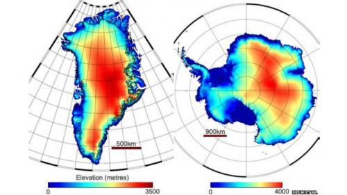 aquecimento global antártida groenlândia