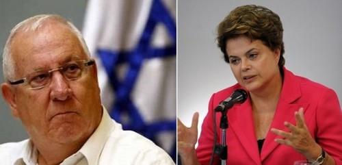 presidente israel desculpas dilma