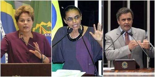 dilma marina aécio eleições 2014