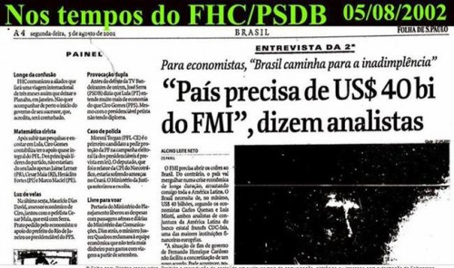 brasil fmi fhc empréstimo