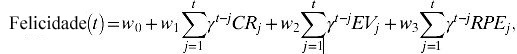 fórmula felicidade