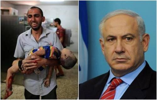 israel gaza crianças benjamin