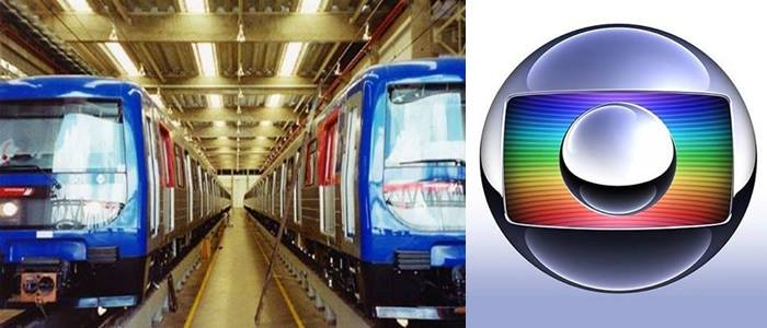 metrô sp rede globo futebol
