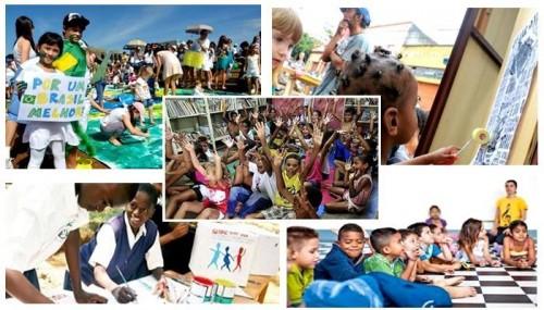 crianças cidadania política brasil