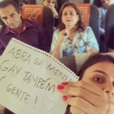 silas malafaia foto avião gay