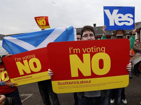 escócia independência rejeitada