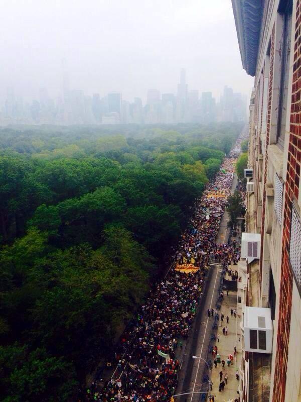 marcha 400 mil nova york