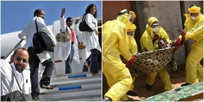 ebola áfrica médicos cubanos