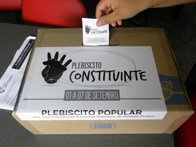 plebiscito constituinte reforma política