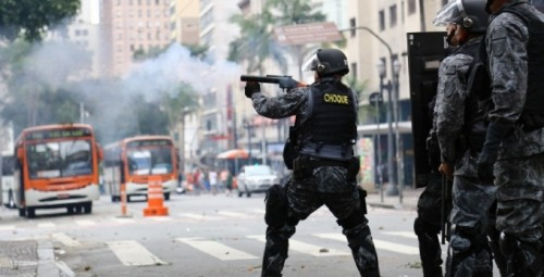confronto polícia sem teto sp