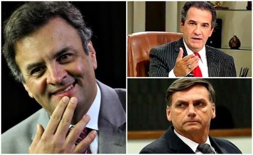 Aecio Neves Bolsonaro Sillas Malafaia