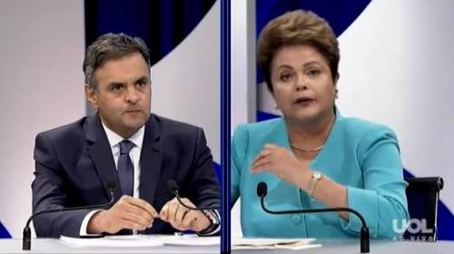 debate sbt corrupção aécio dilma