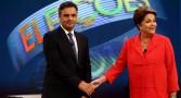 Dilma e Aécio participam do último debate antes do segundo turno