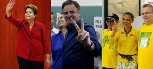 dilma aécio marina voto segundo turno