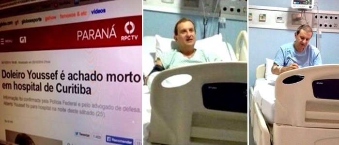 doleiro youssef hospital médicos