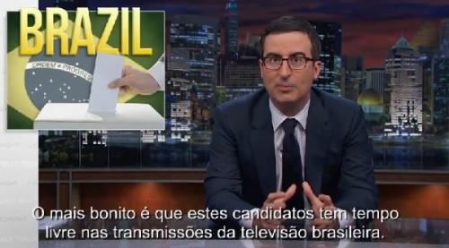 eleições brasil piada eua hbo