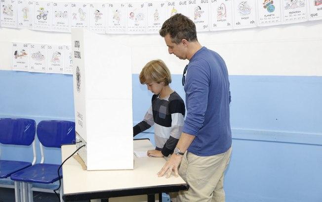 luciano huck voto joaquim urna