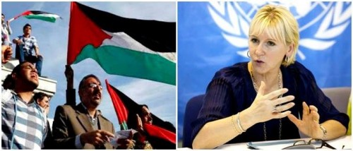 suécia reconhece palestina