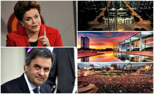 dilma aécio eleições jornadas junho