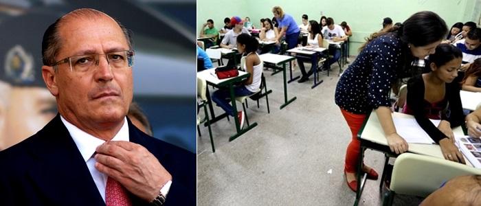 alckmin suspende residencia educacional SP