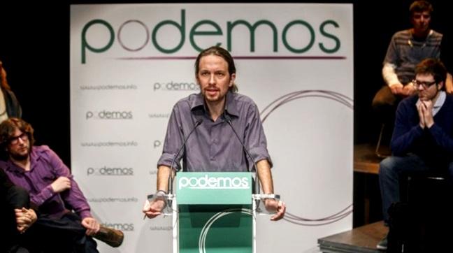 Pablo Iglesias podemos espanha