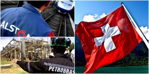 alstom Petrobras suíça justiça Brasil