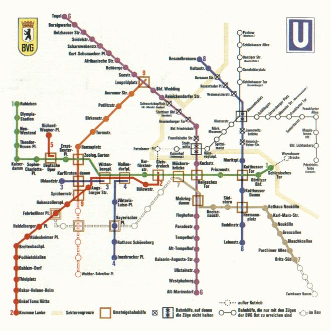 estações muradas metrô de berlim