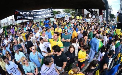 marcha impeachment dilma avenida paulista