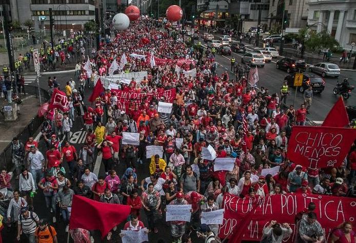 ato reforma política avenida paulista