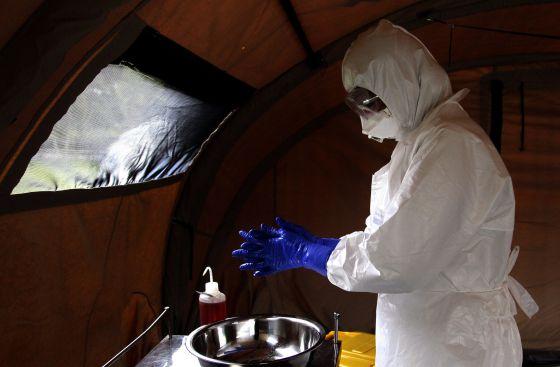 médico cubano ebola serra leoa