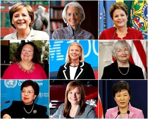 mulheres mais poderosas do mundo 2014