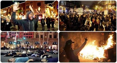 ferguson michael brown noite protestos