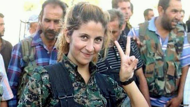 guerrilheira rehana kobani