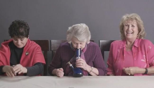 vídeo maconha vovós avós primeira vez