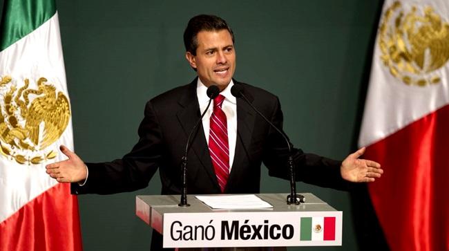 Enrique Pena Nieto presidente Mexico
