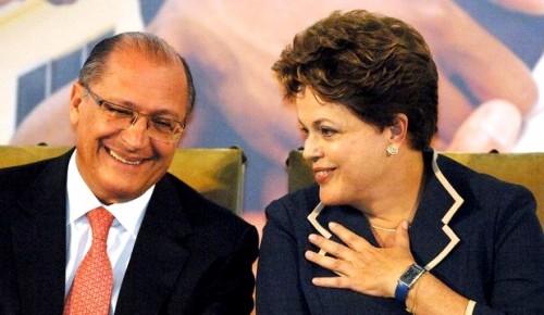 governo Alckmin psdb Dilma rousseff pt