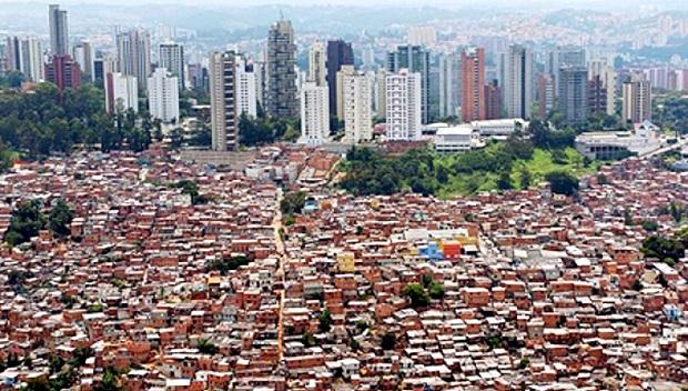 desigualdade social brasil pobre rico